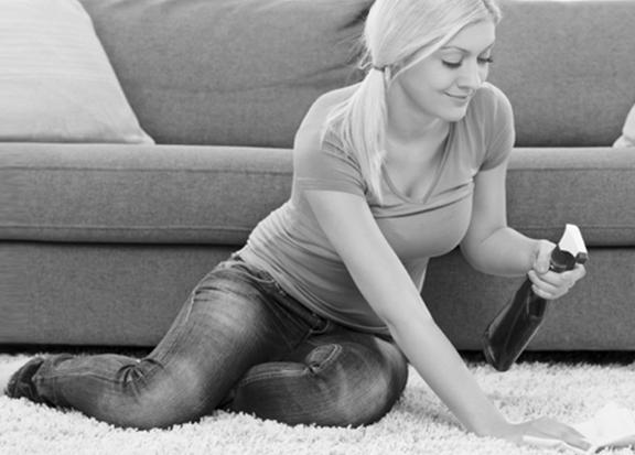 Angebot der Teppichreinigung